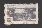 Stamps : America : Mexico :   Presa Netzahualco.coyotl