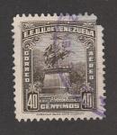 Stamps : America : Venezuela :  Estatua a Simón Bolívar