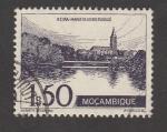 Stamps : Africa : Mozambique :  Margenes del río Pungue en Beira