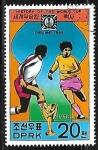 Sellos de Asia - Corea del norte -  Historia de la Copa del mundo - Futbol