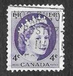 Sellos de America - Canadá -  340 - Isabel II
