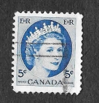 Sellos de America - Canadá -  341 - Isabel II
