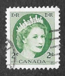 Stamps Canada -  338 - Isabel II