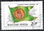 Stamps Hungary -  2757 - Bandera Ferenc Rakoczi