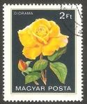 Stamps Hungary -  2808 - Flor diorama