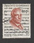Stamps Europe - Italy -  Umberto Giordano
