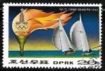 Stamps Asia - North Korea -  Juegos Olimpicos de verano - Vela