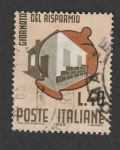 Stamps Europe - Italy -  Día del ahorro