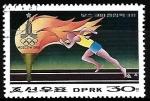 Stamps Asia - North Korea -  Juegos Olimpicos de verano - Atletismo