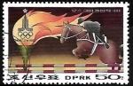 Stamps Asia - North Korea -  Juegos Olimpicos de verano - Equitacion