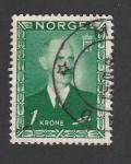 Stamps Europe - Norway -  Rey Haakon VII