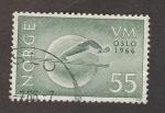 Stamps Norway -  Campeonatos de esquí rn Oslo