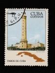Stamps Cuba -  Faro Punta Lucrecia