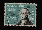 Stamps Belgium -  Edicto de tolerancia de José II