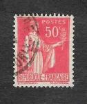 Stamps France -  269 - La Paz con Rama de Olivo