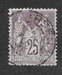 Sellos de Europa - Francia -  93 - Paz y Comercio