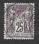 Stamps France -  93 - Paz y Comercio