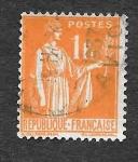 Stamps France -  277 - La Paz con Rama de Olivo