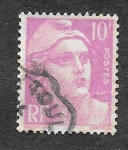 Stamps France -  600 - Marian