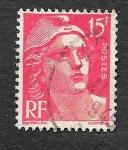 Stamps France -  614 - Centenario del Primer Sello Francés