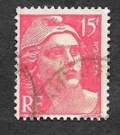 Sellos de Europa - Francia -  614 - Centenario del Primer Sello Francés