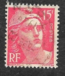 Stamps France -  614 - Centenario del Primer Sello Francés