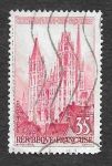 Stamps France -  854 - Catedral de Nuestra Señora de Ruan