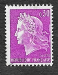 Stamps France -  1198 - Marian