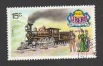 Sellos de Africa - Liberia -  Trenes históricos,Japón