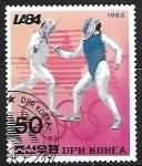 Sellos de Asia - Corea del norte -  Juegos Olimpicos de verano - Esgrima