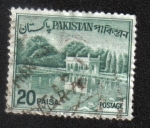 Sellos del Mundo : Asia : Pakistán : Jardines de shalimar
