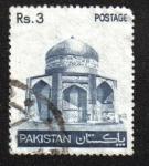 Sellos del Mundo : Asia : Pakistán : Mausoleo de Ibrahim Khan Makli Thatta