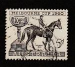 Sellos de Oceania - Australia -  Hípica.copa de Melbourne