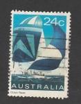 Stamps Australia -  Regata oceánica