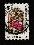 Stamps Australia -  Christmas 1969