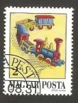 sellos de Europa - Hungría -  3177 - Tren de juguete