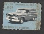 Stamps Honduras -  Coche de correos