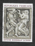 Stamps : Europe : France :  1206 - Pintura