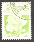Sellos de America - Nicaragua -  1435 - Flor