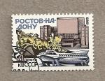 Sellos de Europa - Rusia -  Vista de Rostov en el Don