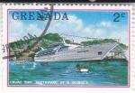 Sellos de America - Granada -  CRUCERO