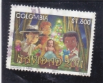 Stamps : America : Colombia :  NAVIDAD-2011