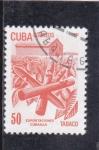 Sellos de America - Cuba -  EXPORTACIONES CUBANAS-TABACO