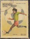 Stamps : America : Nicaragua :  COPA MUNDIAL DE FUTBOL-ESPAÑA -82