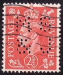 Stamps United Kingdom -  Jorge VI - Impuesto postal