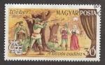 Stamps Hungary -  El cazador furtivo, opera