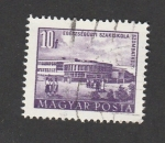 Stamps Hungary -  Autobús escolar