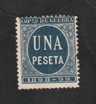 Stamps : Europe : Spain :  Impuesto de guerra