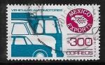 Sellos de America - México -  México Exporta Vehículos automotores