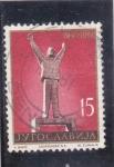 Sellos de Europa - Yugoslavia -  ESTATUA